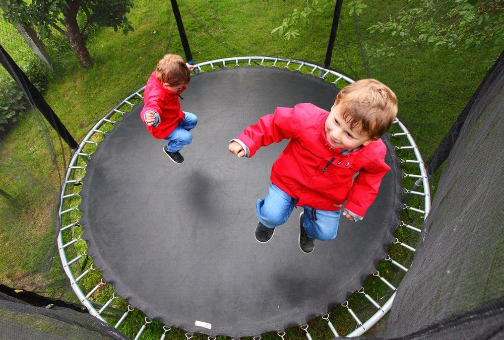 how to jump on a trampoline